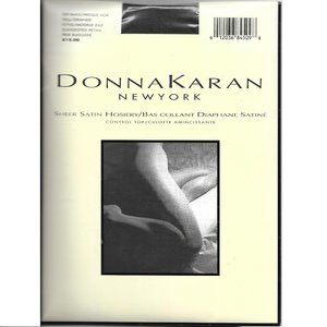 Donna Karan New York Off Black Hosiery TALL